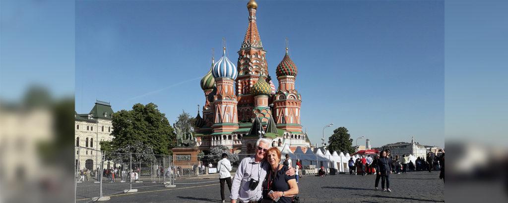 Making memories in Russia