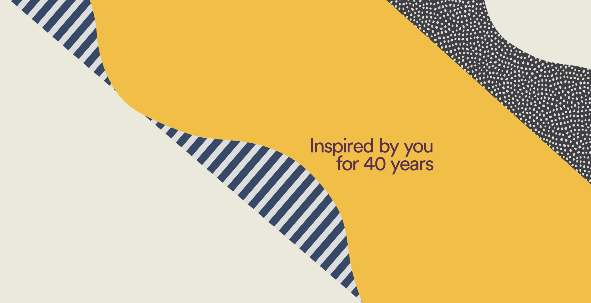 Celebrating 40 years of inspiration