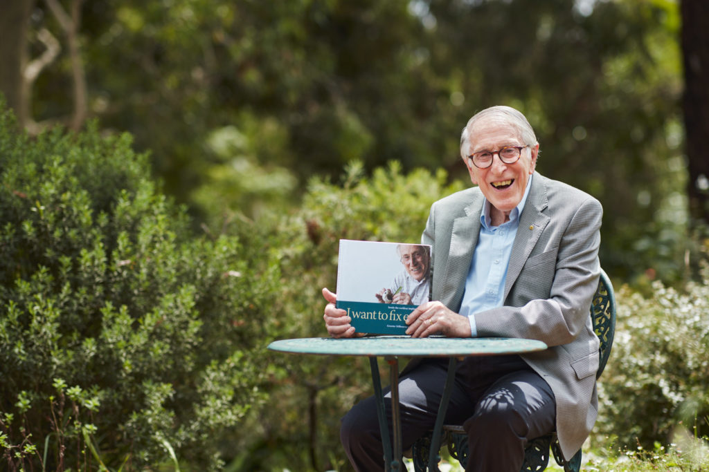 Professor Graeme Clark tells all in new memoir