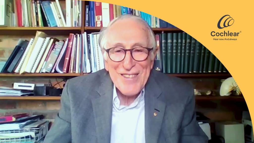 A message from Professor Graeme Clark